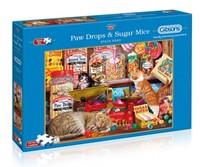 Paw Drops & Sugar Mice - Steve Read Puzzel (500 XL stukjes)-1