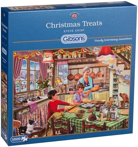 Christmas Treats - Steve Crisp Puzzel (1000 stukjes)