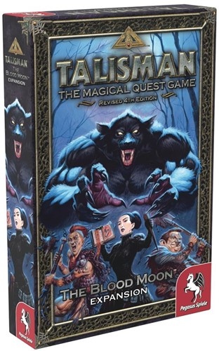 Talisman Revised 4th edition - The Blood Moon Expansion