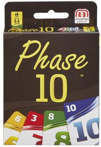 Phase 10 Kaartspel (Doosje licht beschadigd)