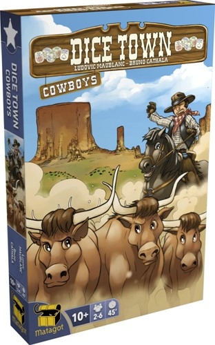 Dice Town - Cowboys Expansion