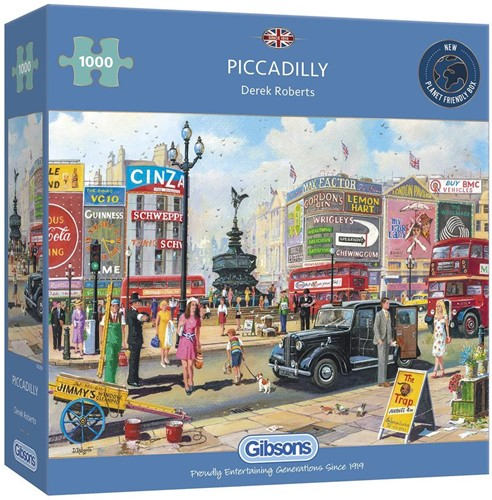 Piccadilly Puzzel (1000 stukjes)