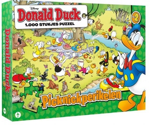 Donald Duck 2 - Picknick Perikelen Puzzel (1000 stukjes)