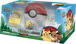 Pokemon Pokeball Pikachu Eevee Collection Box