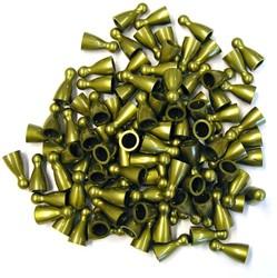 Plastic Spel Pionnen 12x24mm Goud (25 stuks)
