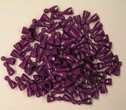 Plastic Spel Pionnen 12x24mm Paars (25 stuks)