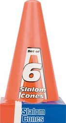 6 Grote Oranje Pionnen (23cm)