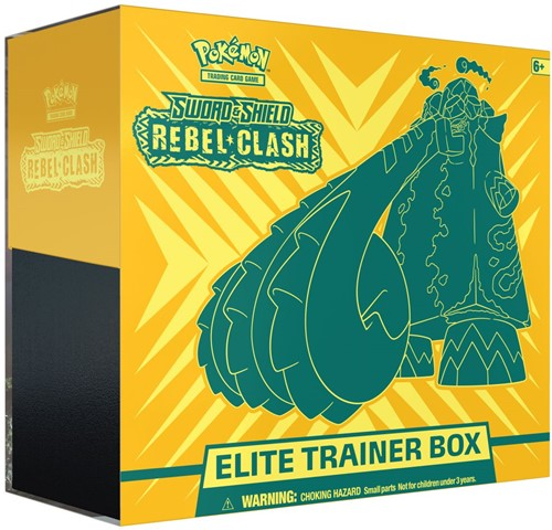 Pokemon Sword & Shield - Rebel Clash Elite Trainerbox