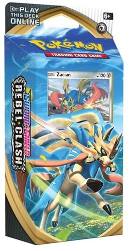 Pokemon Sword & Shield - Rebel Clash Themedeck Zacian