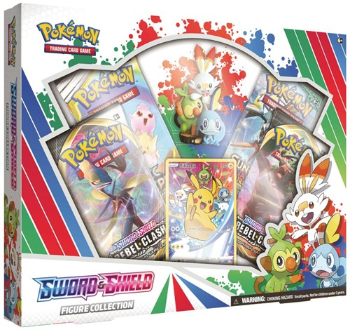 Pokemon - Sword & Shield Figure Collection