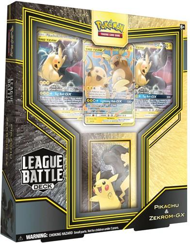 Pokemon - League Battle Decks Pikachu & Zekrom-GX
