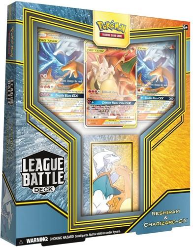 Pokemon League Battle Decks Reshiram & Charizard-GX
