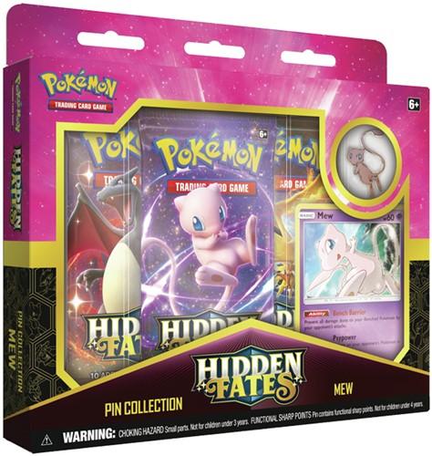 Pokemon - Hidden Fates Mew Pin