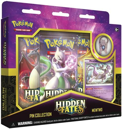 Pokemon - Hidden Fates Mewtwo Pin