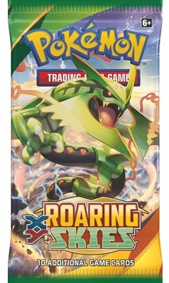 Pokemon XY6 Roaring Skies Boosterpack-2