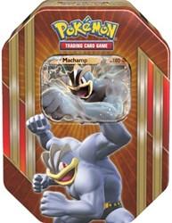 Pokemon TCG Spring Tin Machamp-EX