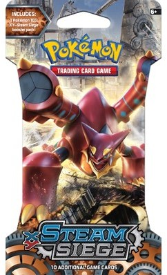 Pokemon TCG XY11 Steam Siege Sleeved Boosterpack-2