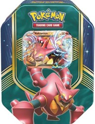 Pokemon TCG Fall Tin Battle Heart Volcanion-EX