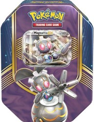 Pokemon TCG Fall Tin Battle Heart Magearna-EX
