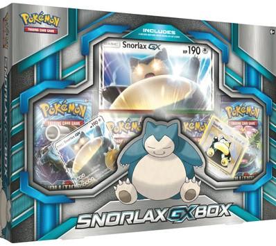 Pokemon - Snorlax-GX Box