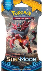 Pokemon Sun & Moon - Sleeved Boosterpack