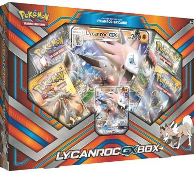 Pokemon Lycanroc-GX Box
