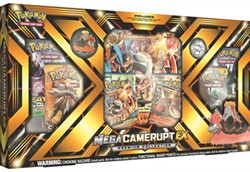 Pokemon - Mega Camerupt-EX Collection