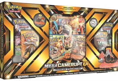 Pokemon - Mega Camerupt-EX Collection