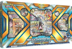 Pokemon - Mega Sharpedo-EX Collection
