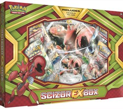 Pokemon - Scizor-EX Box