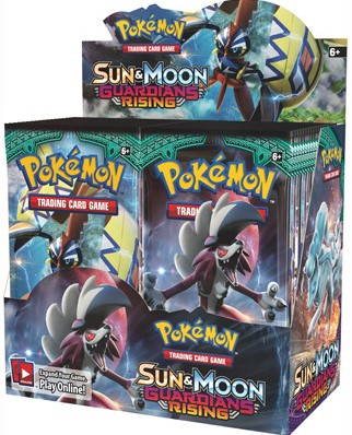 Pokemon Sun & Moon - Guardians Rising Boosterbox-1