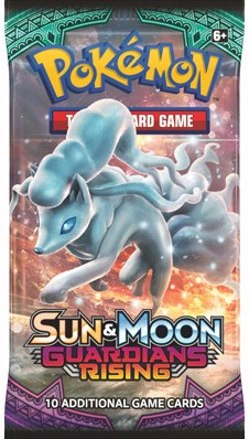 Pokemon Sun & Moon - Guardians Rising Boosterpack