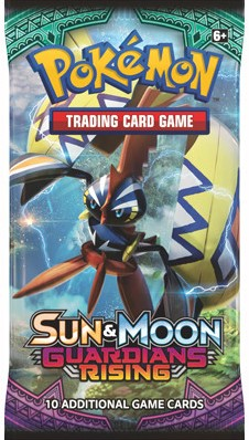 Pokemon TCG Sun & Moon Guardians Rising Boosterpack