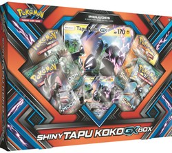 Pokemon - Shiny Tapu Koko-GX Box