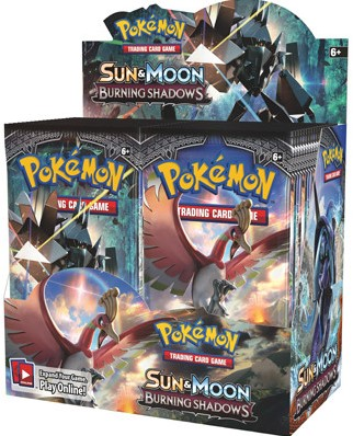 Pokemon Sun & Moon Burning Shadows - Boosterbox-1