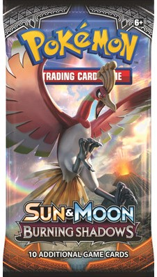 Pokemon Sun & Moon Burning Shadows - Boosterpack-1
