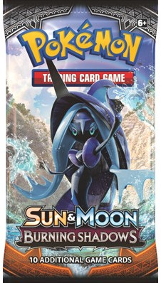 Pokemon Sun & Moon Burning Shadows - Boosterpack-3