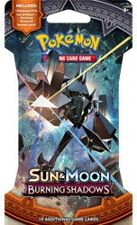 Pokemon Sun & Moon Burning Shadows - Sleeved Boosterpack