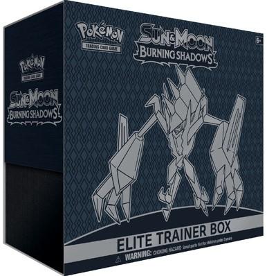 Pokemon Sun & Moon Burning Shadows - Elite Trainer Box-1