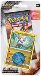 Pokemon Sun & Moon Burning Shadows - Checklane Blister