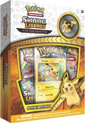 Pokemon - Shining Legends - Pikachu Pin