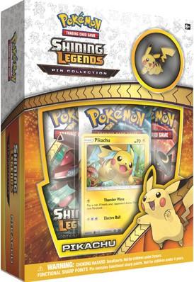Pokemon - Shining Legends - Pikachu Pin