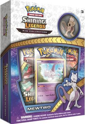 Pokemon - Shining Legends - Mewtwo Pin