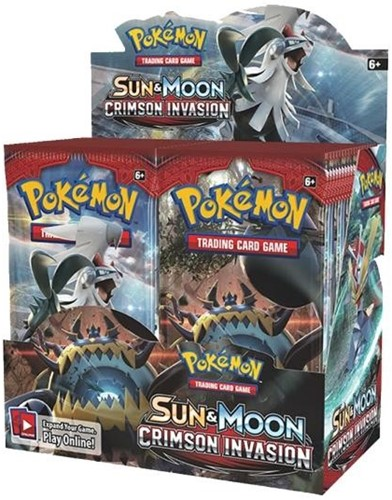 Pokemon Sun & Moon Crimson Invasion - Boosterbox-1