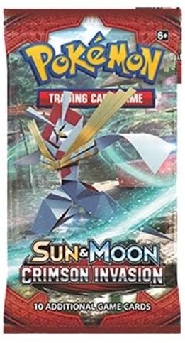Pokemon Sun & Moon Crimson Invasion - Boosterbox