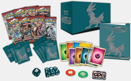 Pokemon Sun & Moon Crimson Invasion - Elite Trainer Box-2
