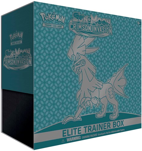 Pokemon Sun & Moon Crimson Invasion - Elite Trainer Box-1