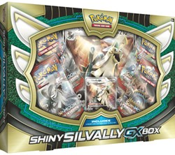 Pokemon - Shiny Silvally-GX Box