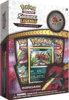 Pokemon - Shining Legends - Zoroark Pin Collection