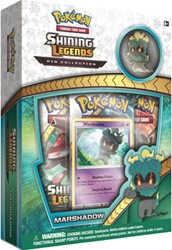 Pokemon Shining Legends Marshadow Pin Collection